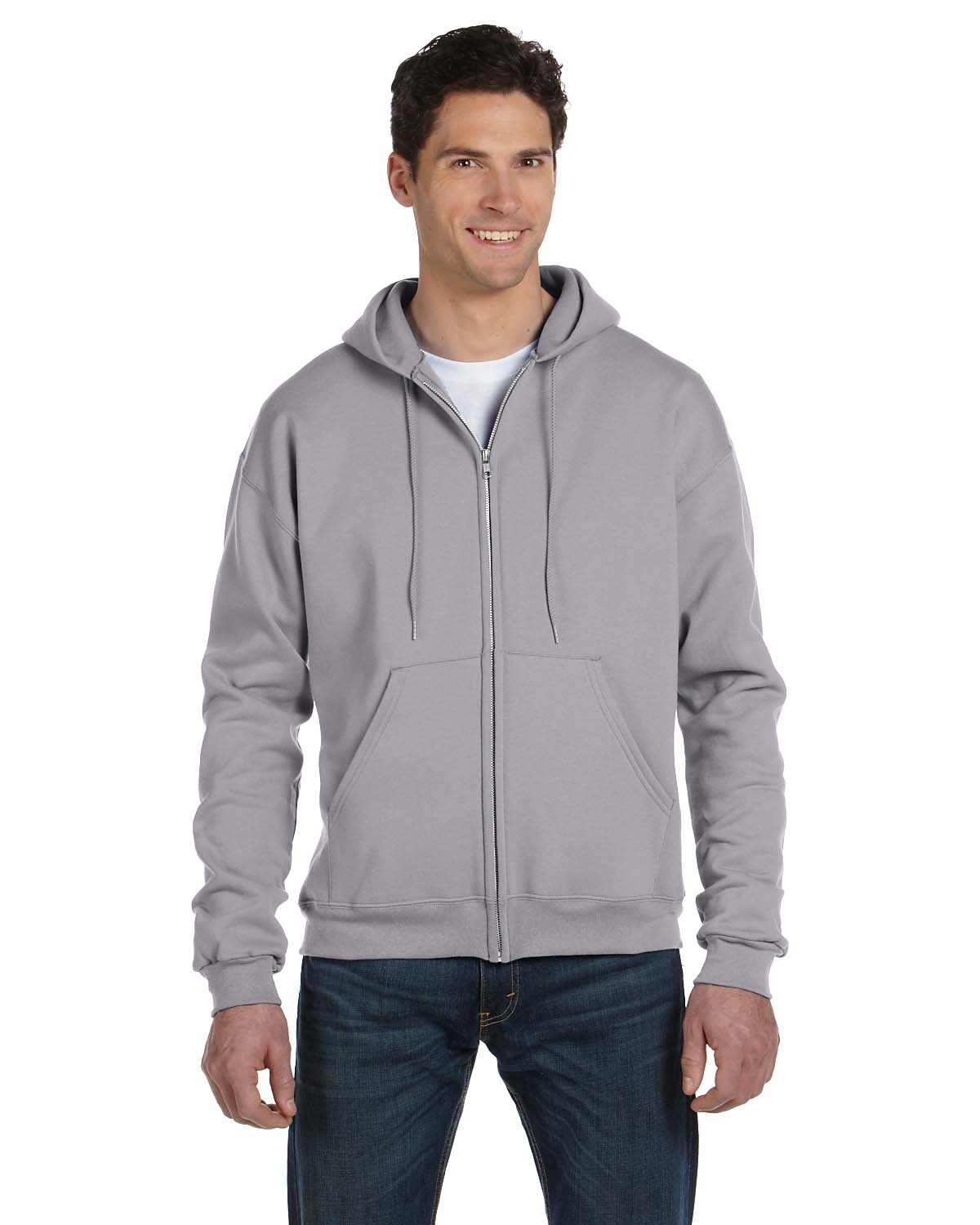 ba21a03a Most Items Include Embroidery. Home / Sweatshirts / Basic / Double Dry Eco  Full-Zip Champion Men's Hoodie