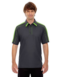 North End Men's Sonic Performance Polyester Piqué Polo