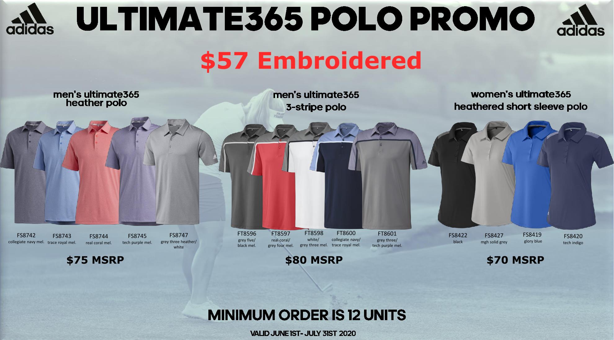 Adadis Ultimate365 Polo Promo 2020