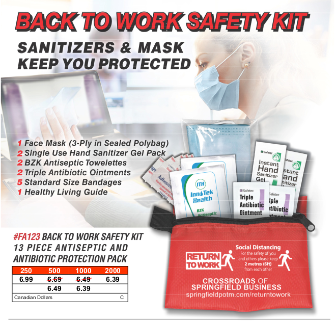 Back To Work Safety Kit