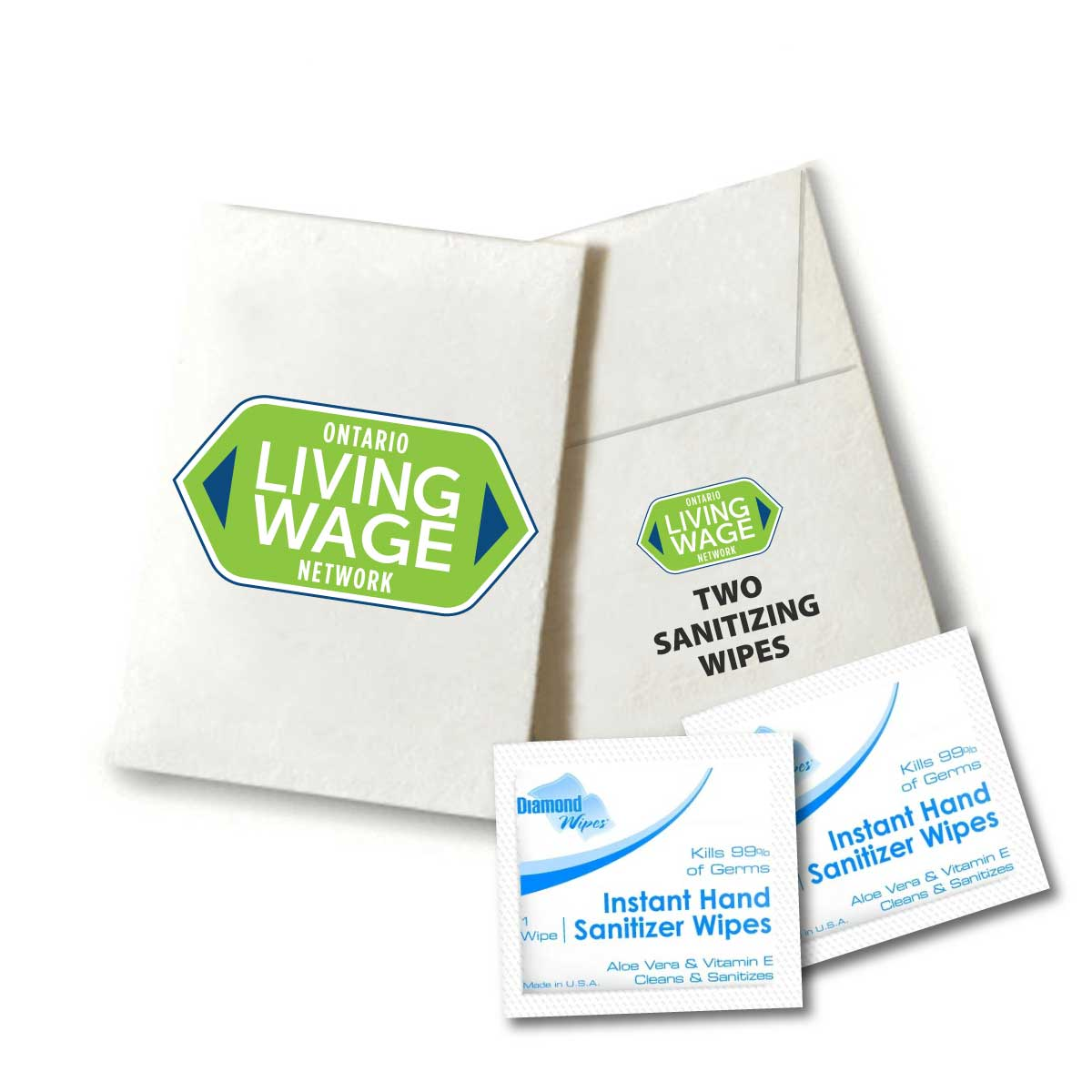 Sanitizer Wipes - 2 pack