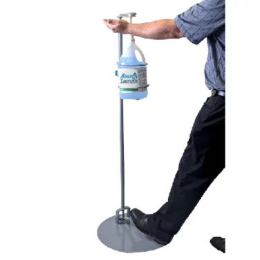 Foot Pedal Sanitization Station