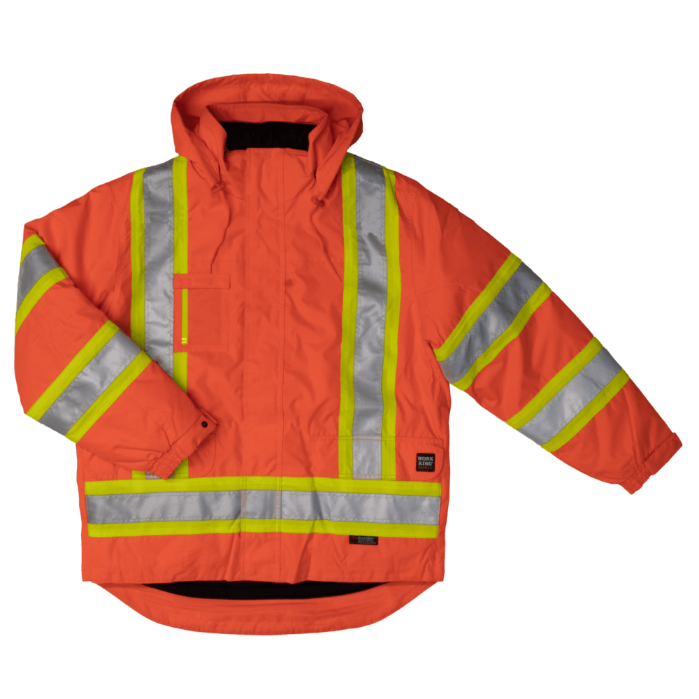 S426-SLOR-F-Work-King-Safety-by-Tough-Duck-Mens-5-in-1-Safety-Jacket-Solid-Orange-Mining-Front-1000x1000