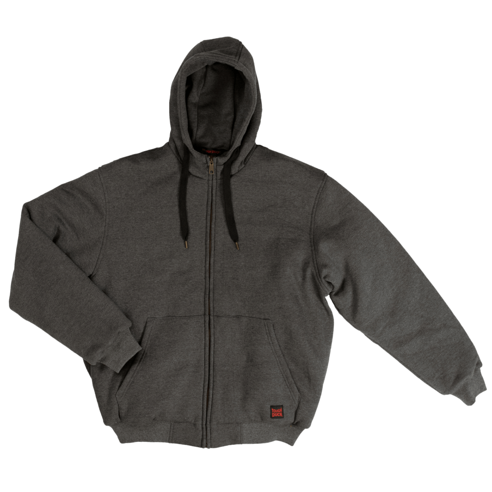 WJ08-CHAR-F-Tough-Duck-Mens-Insulated-Hoodie-Charcoal-Front-1000x1000