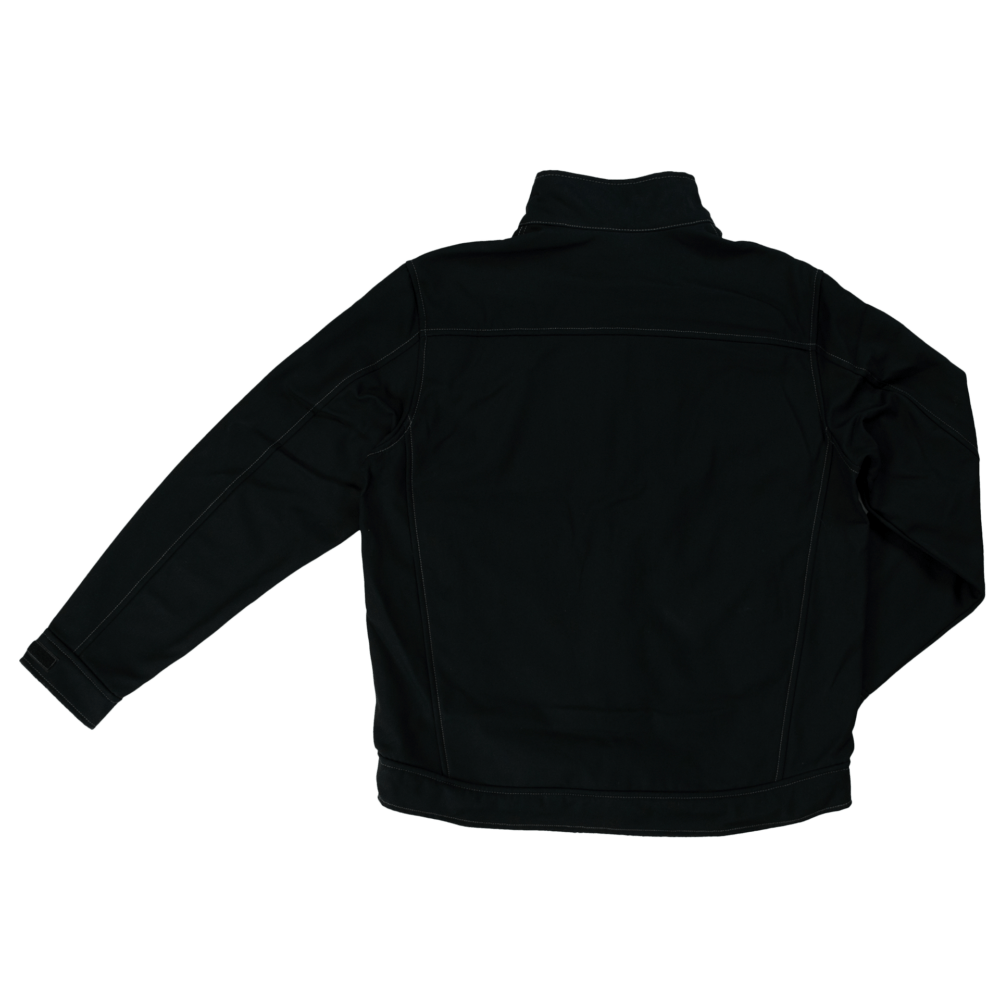 WJ09-BLACK-B-Tough-Duck-Mens-Bonded-Soft-Shell-Jacket-Black-Front-1000x1000