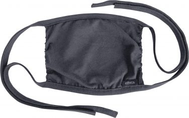 Ethica Reusable Face Mask - Heather Black
