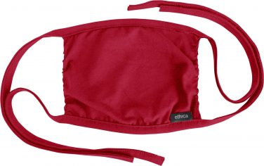 Ethica Reusable Face Mask - Heather Red
