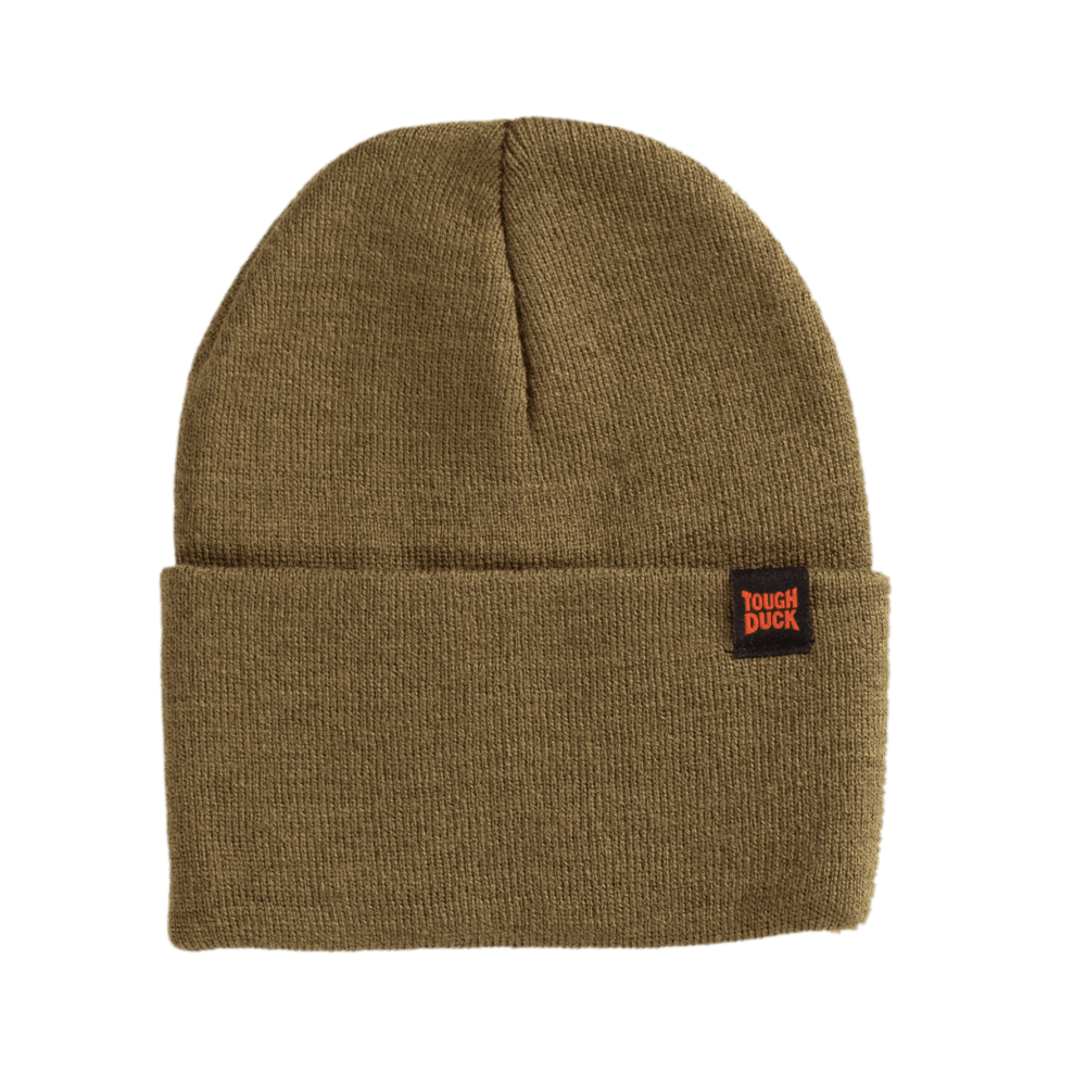 WA16-OLIVE-F-Tough-Duck-Beanie-Watch-Cap-Olive-Front-1000x1000