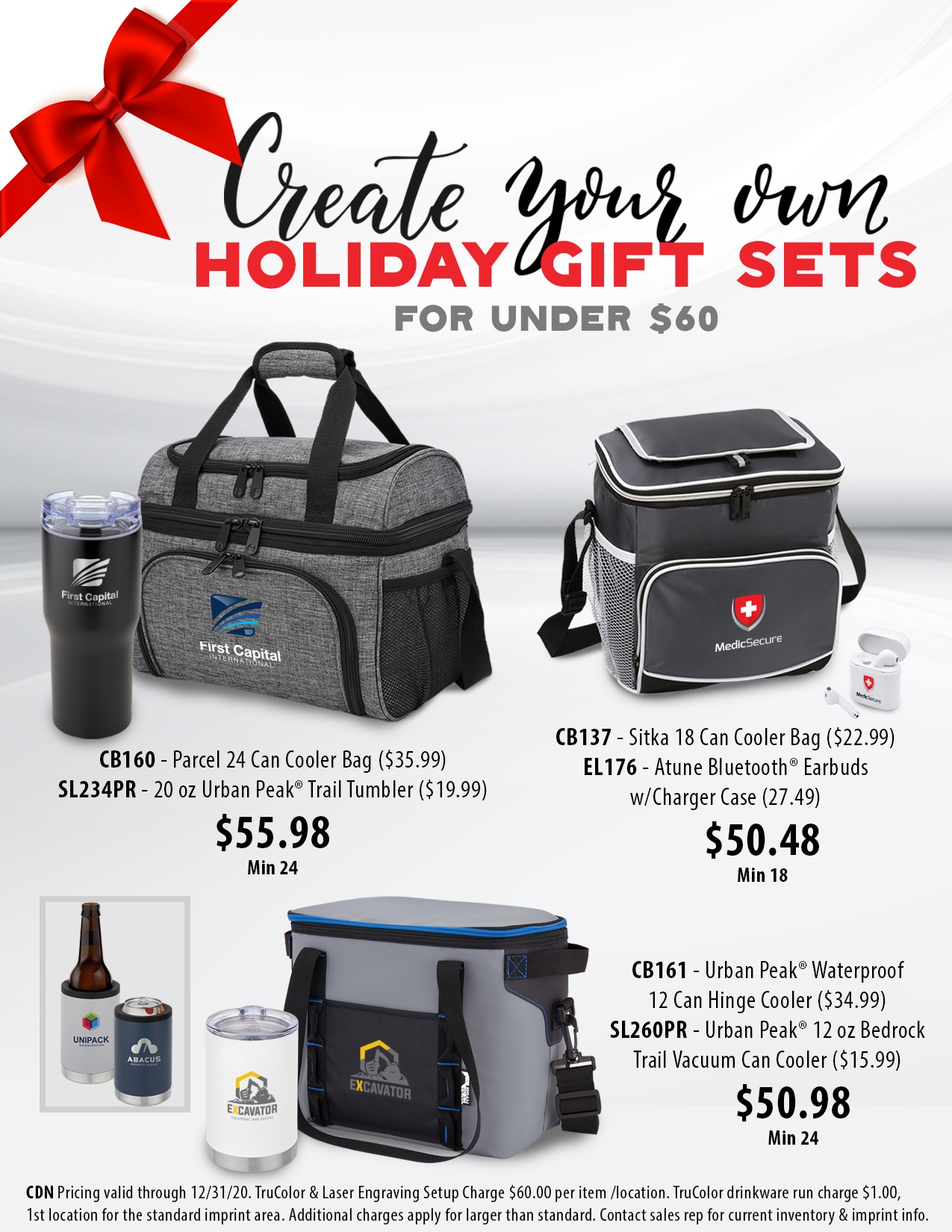 Create your own holiday gift sets for under $60