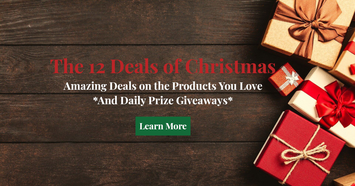 The 12 Deals of Christmas Banner
