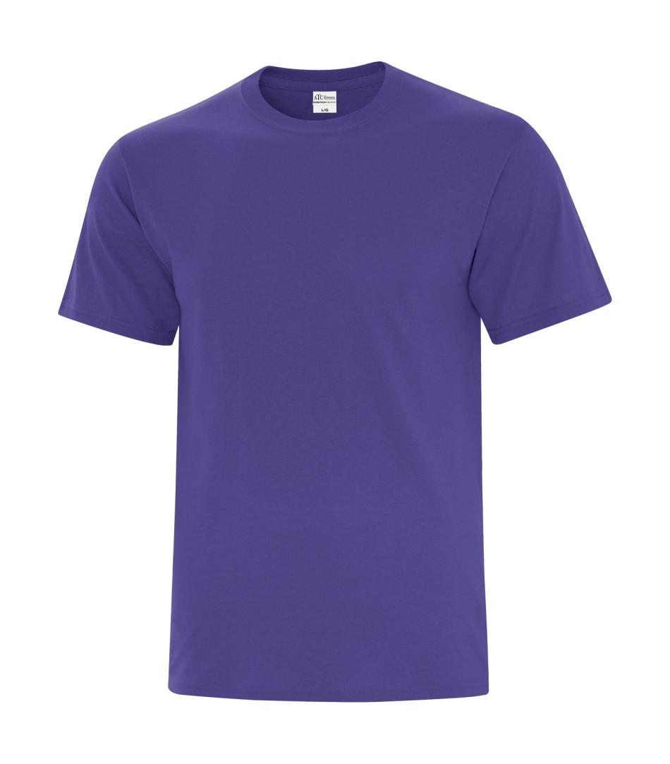 ATC™ Everyday Cotton Blend Tee - Purple