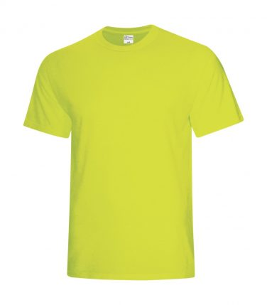 ATC™ Everyday Cotton Blend Tee - Safety Green