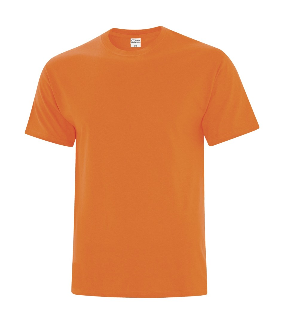ATC™ Everyday Cotton Blend Tee - Safety Orange