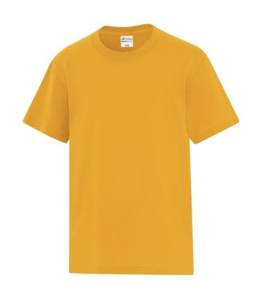 ATC™ Everyday Cotton Blend Youth Tee - Gold