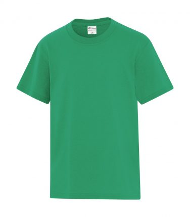 ATC™ Everyday Cotton Blend Youth Tee - Kelly