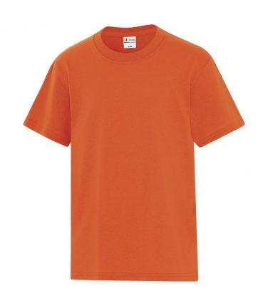 ATC™ Everyday Cotton Blend Youth Tee - Orange