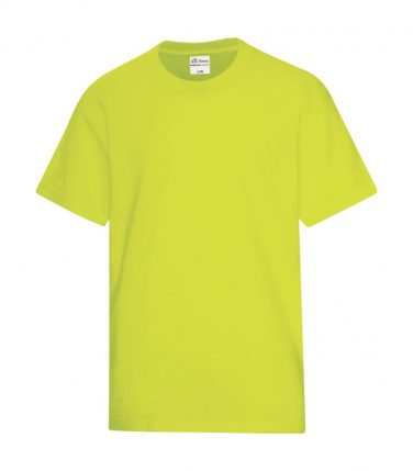ATC™ Everyday Cotton Blend Youth Tee - Safety Green