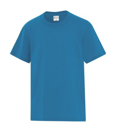 ATC™ Everyday Cotton Blend Youth Tee - Sapphire