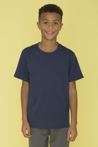 ATC™ Everyday Cotton Blend Youth Tee - Model Shot
