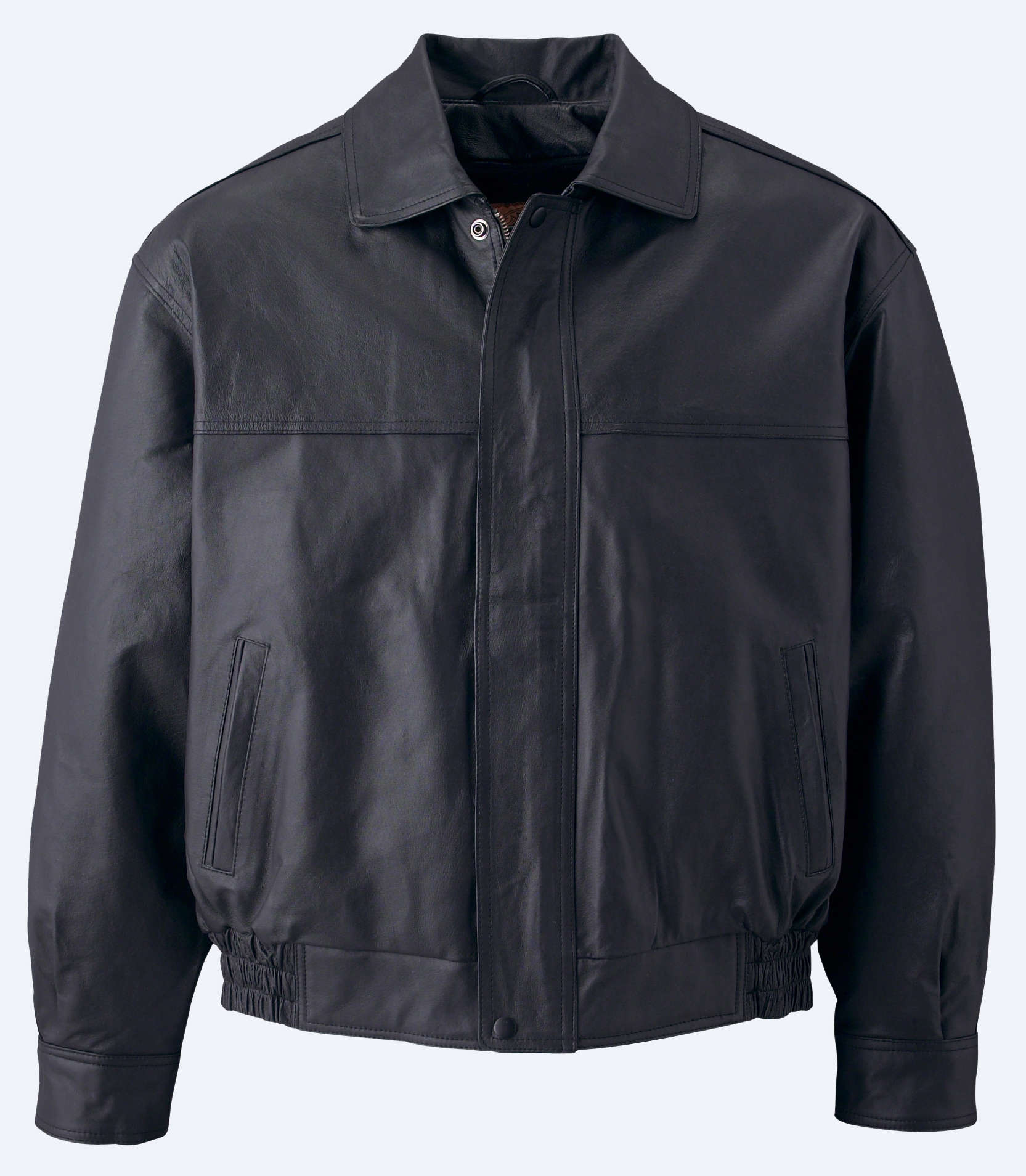 Canada Sportswear Men's Nappa Leather Bomber Jacket - Xpromo.ca