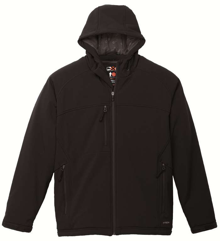 61c0210d59fb CX2 Youth Winter Softshell Jacket with hood - Xpromo.ca