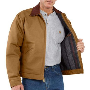 Carhartt Men's Duck Detroit Jacket Blanket-Lined - Xpromo.ca