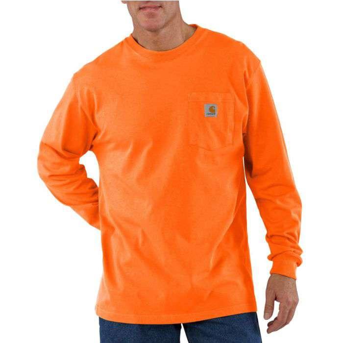1d1cfc1035b Carhartt Men s Long Sleeve Workwear Pocket T-Shirt - Xpromo.ca