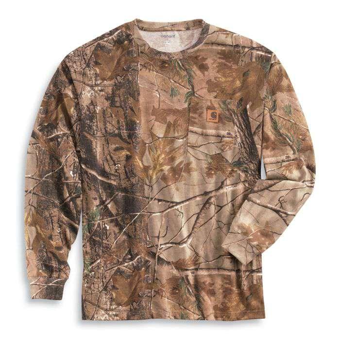 6303118ef523f Carhartt Men's Realtree Xtra Camo Long-Sleeve T-Shirt - Xpromo.ca