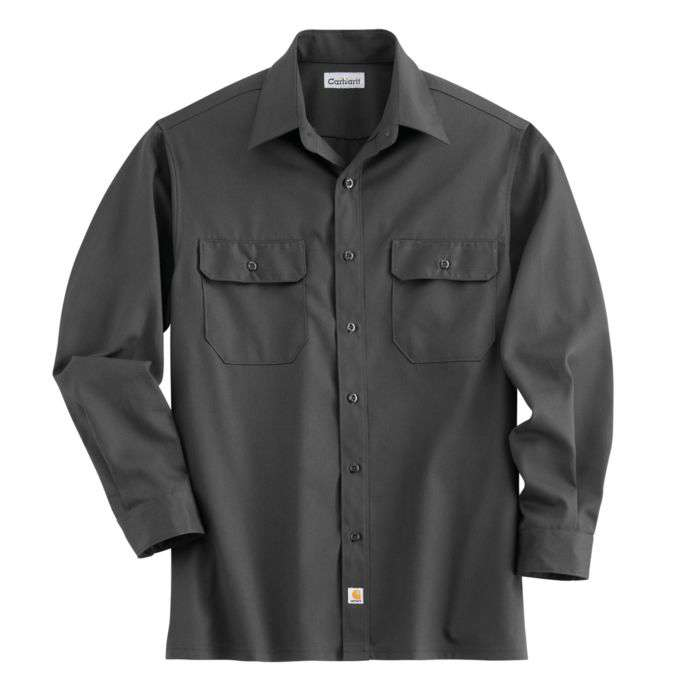 b8c012cb6c8b Carhartt Men s Long-Sleeve Twill Work Shirt Big Tall Sizes - Xpromo.ca