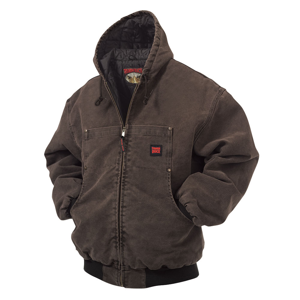 33caadb1487a Tough Duck Washed Hooded Bomber - Xpromo.ca