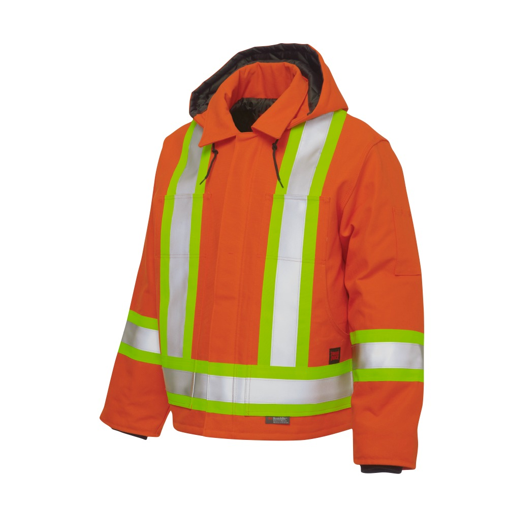 0e3997b510ee Tough Duck Lined Safety Utility Jacket - Xpromo.ca