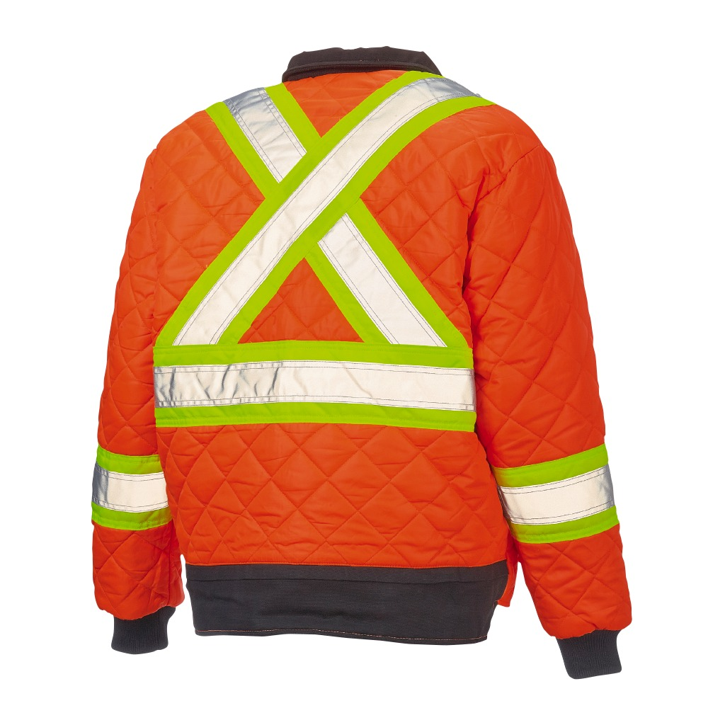 80f4ec29ca98 Work King Duck Safety Reversible Jacket - Xpromo.ca