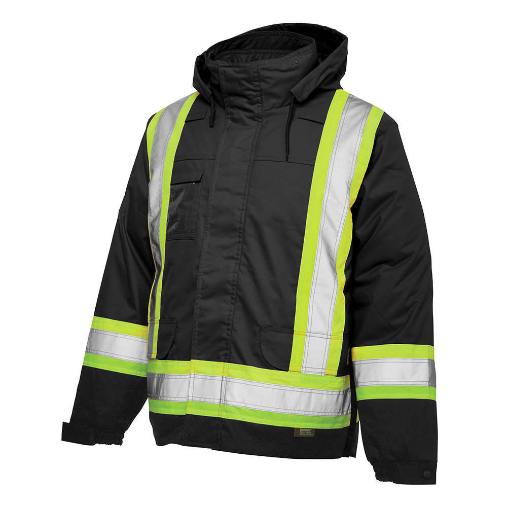 Work King Lined Safety 5 In 1 Jacket Xpromo Ca