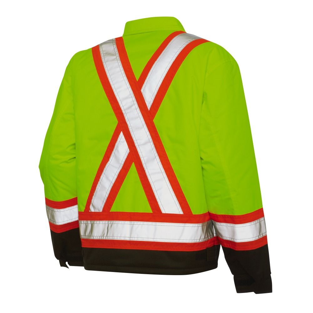 bdf1632dbaac Work King Lined Safety Work Jacket - Xpromo.ca
